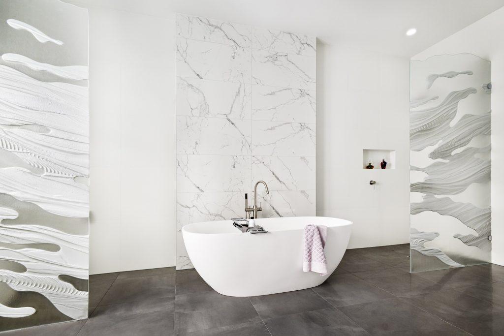 Renovated bathroom in Glen Iris